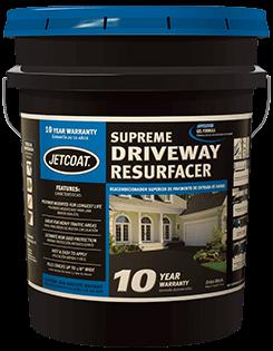 JETCOAT 10-Year Supreme Driveway Resurfacer