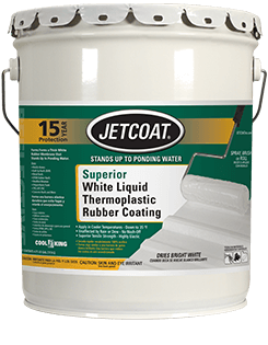 JETCOAT 15-Year Superior White Liquid Thermoplastic Rubber Coating