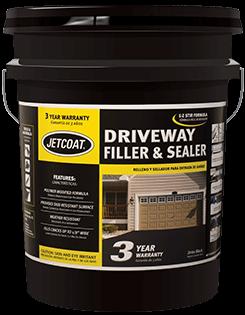 JETCOAT 3-Year E-Z Stir Driveway Filler & Sealer