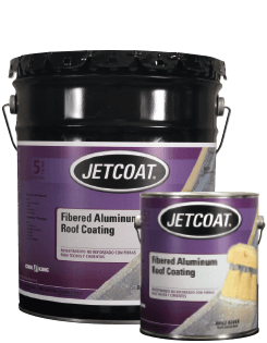 Cool King 5-Year Fibered Aluminum Roof Coating