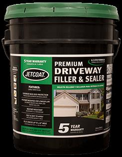 JETCOAT 5-Year Premium Driveway Filler & Sealer