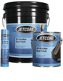 JETCOAT All-Weather Roof Patch