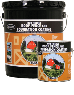 Farm Pride – Non-Fibered Roof, Fence and Foundation Coating