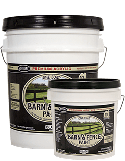 Farm Pride – Black Premium One Coat 100% Acrylic Barn & Fence Paint