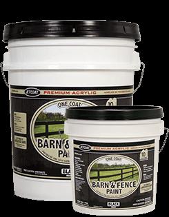 Farm Pride – Black Premium One Coat 100% Acrylic Barn & Fence Paint