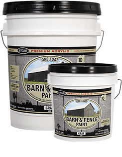 Farm Pride – Gray Premium One Coat 100% Acrylic Barn & Fence Paint