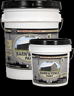Farm Pride - Gray Premium One Coat 100% Acrylic Barn ...