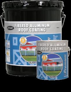 Farm Pride – 7-Year Premium Fibered Aluminum Roof Coating