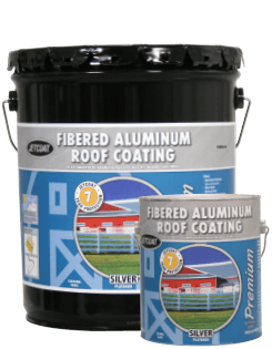Farm Pride – 7-Year Premium Fibered Aluminum Roof Coating