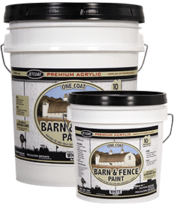 Farm Pride – White Premium One Coat 100% Acrylic Barn & Fence Paint