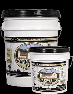 Farm Pride – White Premium One Coat 100% Acrylic Barn & Fence Paint