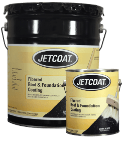 JETCOAT Fibered Roof and Foundation Coating