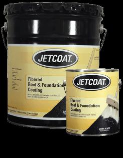 JETCOAT Fibered Roof and Foundation Coating