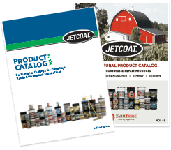 JETCOAT Professional Grade driveway, roof, and foundation coatings catalog