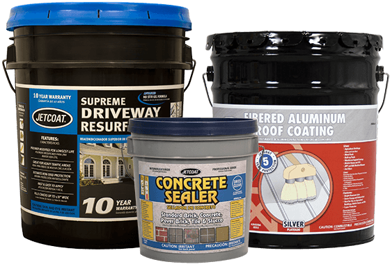 JETCOAT Performance Coatings Driveway, Roof, and Foundation Coatings