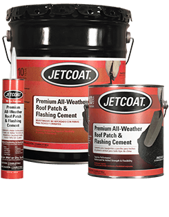 JETCOAT Premium All-Weather Roof Patch & Flashing Cement