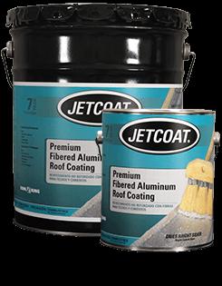 JETCOAT – 7-Year Premium Fibered Aluminum Roof Coating