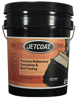 JETCOAT Premium Rubberized Foundation & Roof Coating