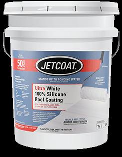 JETCOAT Ultra White 100% Silicone Roof Coating