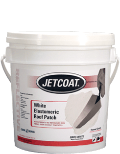 Cool King – White Elastomeric Roof Patch