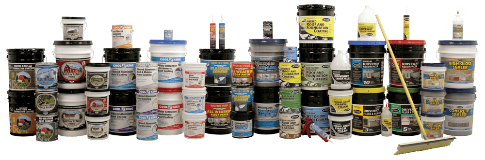 JETCOAT Professional Grade Performance Coatings, Driveway, Roof, and Foundation Coatings